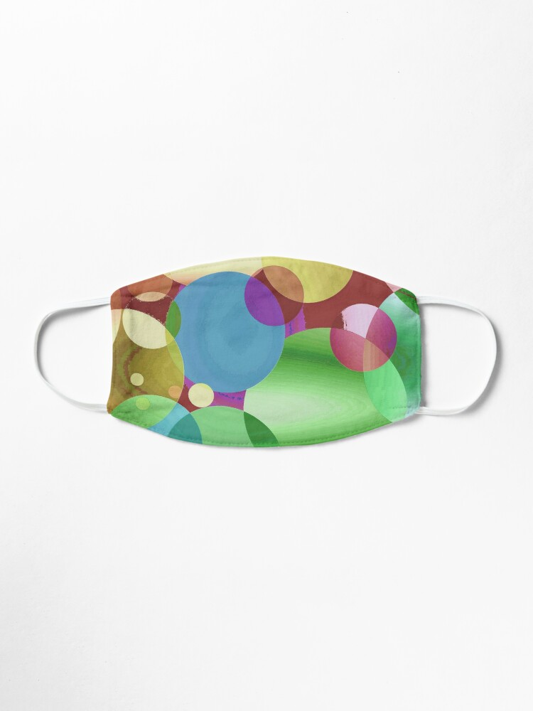 Alternate view of Candy Bubbles Mask Mask