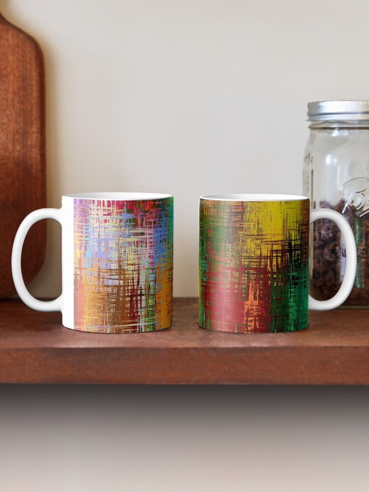 Alternate view of Autumnal Abstraction Mug