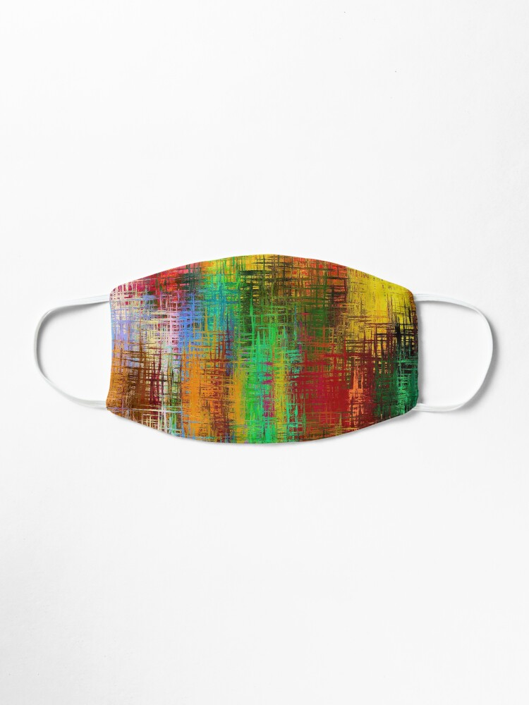 Alternate view of Autumnal Abstraction Mask