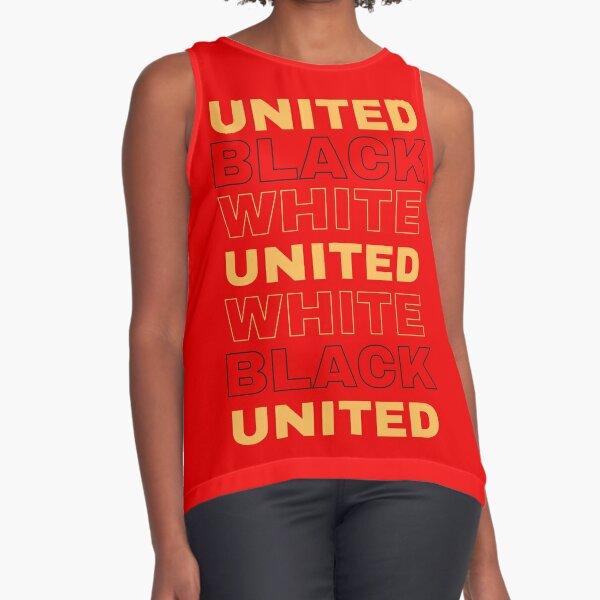black white united  Sleeveless Top