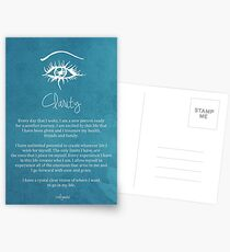 Affirmation - Clarity Postcards