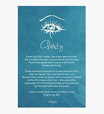 Affirmation - Clarity Photographic Print