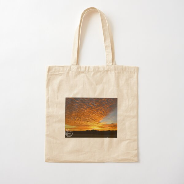 Easter Sunrise Cotton Tote Bag