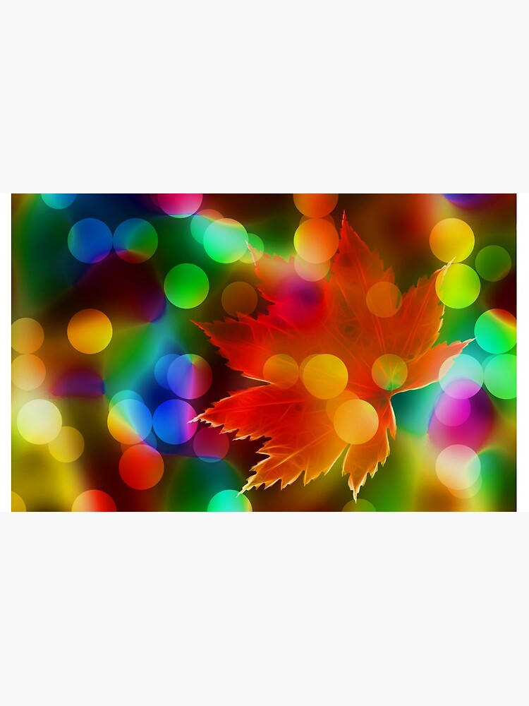 Seasonal Leaf & Lights by mikepil