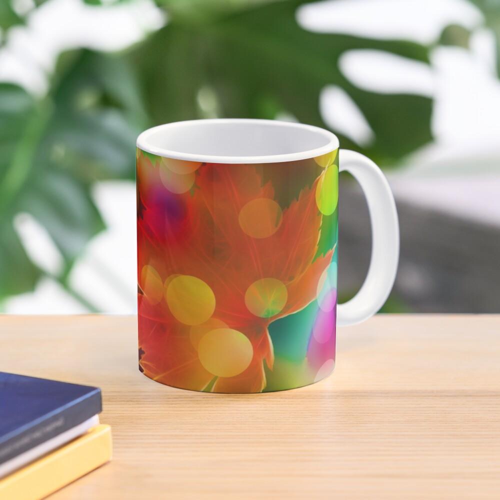 Seasonal Leaf & Lights Mug