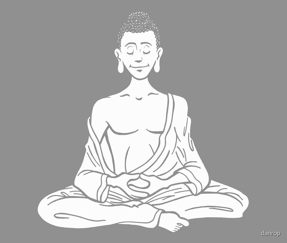 Everyone is Buddha! - Classic Buddha by danrop