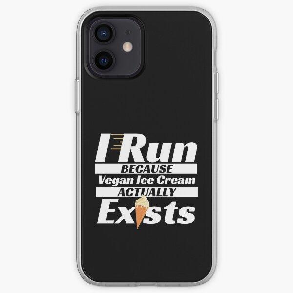 Vegan Ice Cream Loving Runner iPhone Soft Case