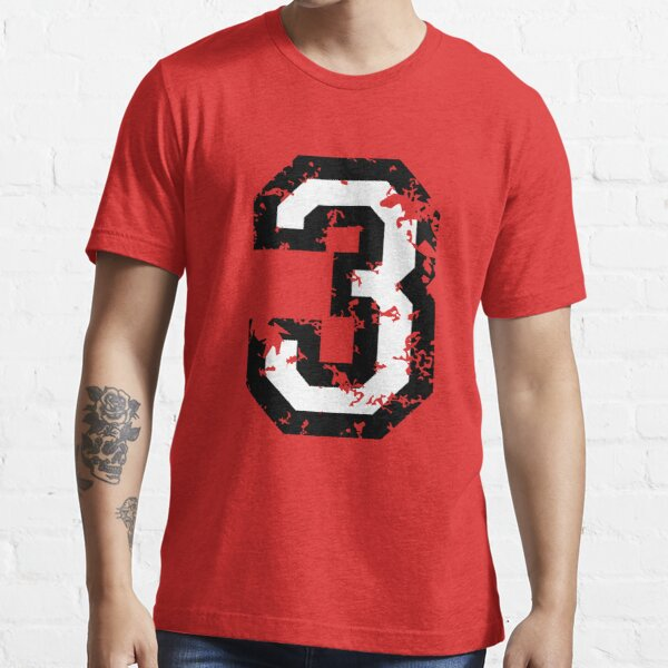 The Number Three - No. 3 (two-color) white Essential T-Shirt