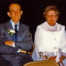 Dad and Mom..30 years ago by Anne Gitto