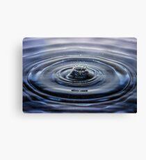 Water Splash Canvas Print