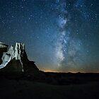Badlands Milky Way von B Spencer
