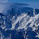 The Mont Blanc in winter by Rémi Bridot