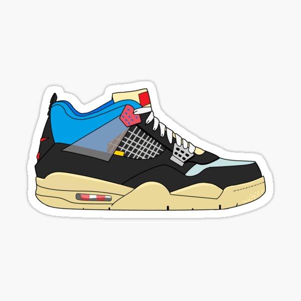 Union x Jordan 4 Off Noir  Sticker