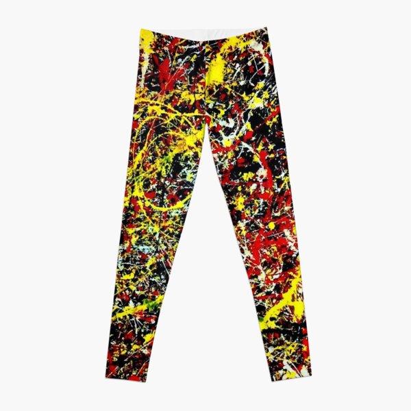 Pollock Splatter Leggings