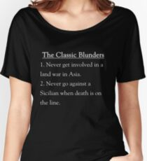 The Classic Blunders Women's Relaxed Fit T-Shirt
