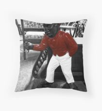 Old Time Lamp Post Throw Pillow
