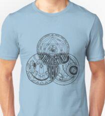 Superwholock Venn Diagram (Transparent) T-Shirt