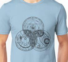 Superwholock Venn Diagram (Transparent) Unisex T-Shirt