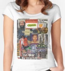 The War of Errors Women's Fitted Scoop T-Shirt