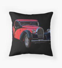 1937 Bugatti Type 57 Atalante Coupe II Throw Pillow