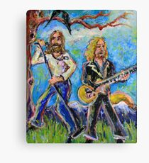 My Morning Song (The Black Crowes) Canvas Print