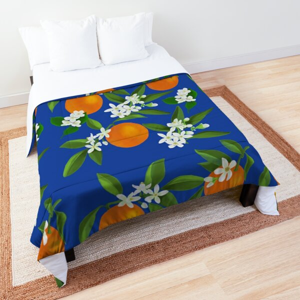 Orange Blossom and Jasmine Comforter