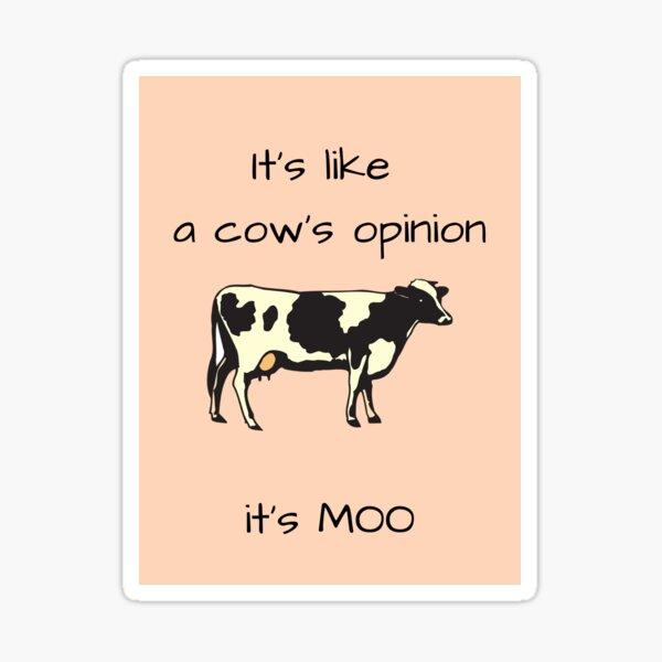 C'est MOOt Sticker