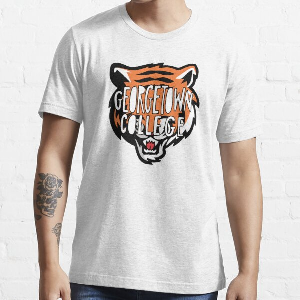 NCAA Georgetown College Tigers T-Shirt V1