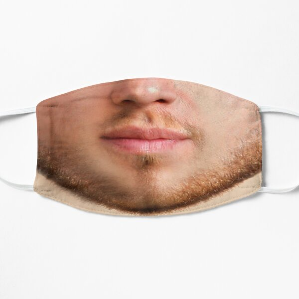 Bearded Young Man Mask