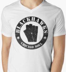 Keep On Keepin' On (Distressed) Men's V-Neck T-Shirt