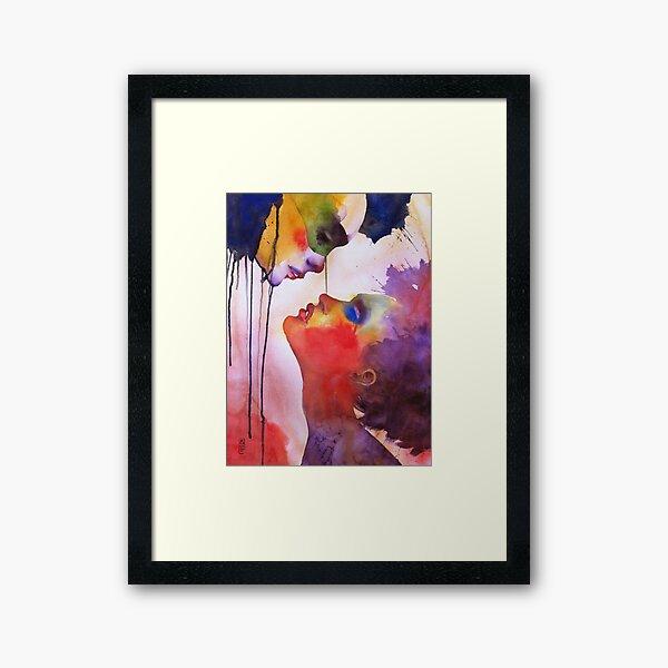 I love you, I hate you Framed Art Print