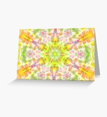 Mandala - Love, Healing, Joy Greeting Card