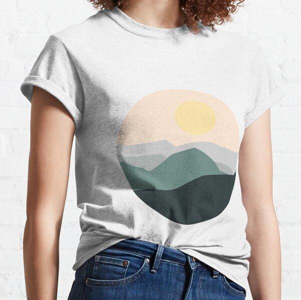 Teal Sunrise Classic T-Shirt