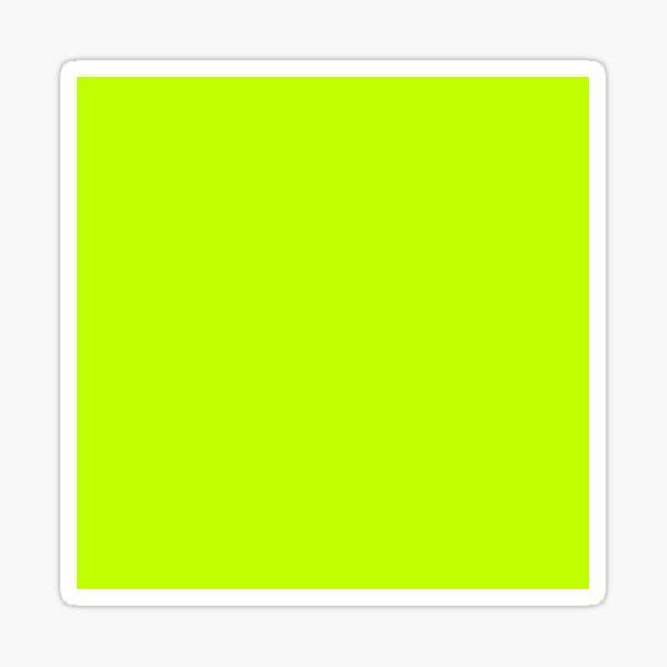 60. Bitter Lime Sticker