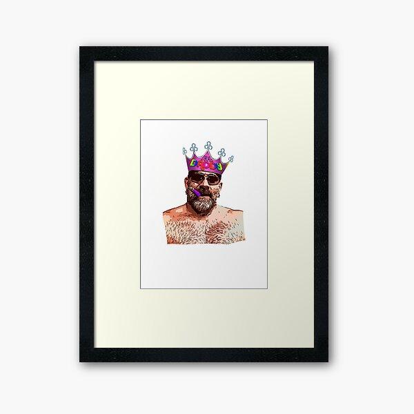 Drag Daddy Framed Art Print