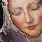 Pieta Mother Detail by Naomi Duben