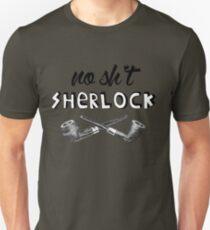 #no sh*t sherlock Unisex T-Shirt