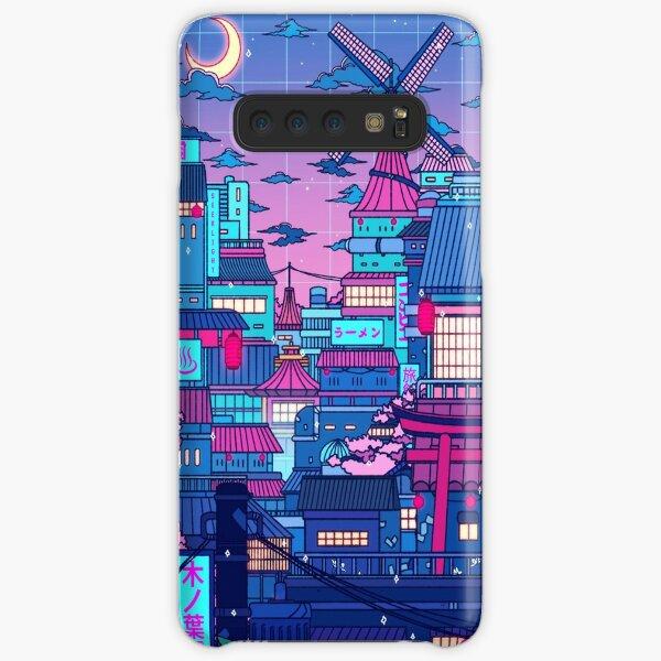 Cyberpunk Village Samsung Galaxy Snap Case