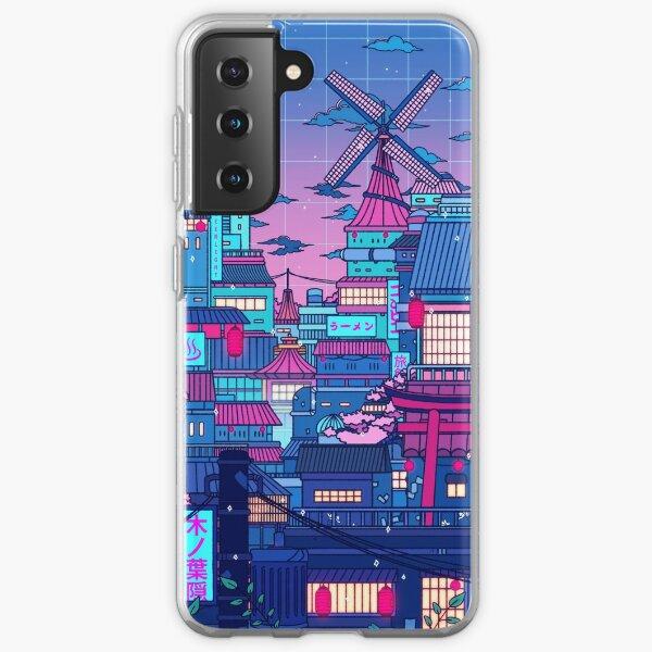Cyberpunk Village Samsung Galaxy Soft Case