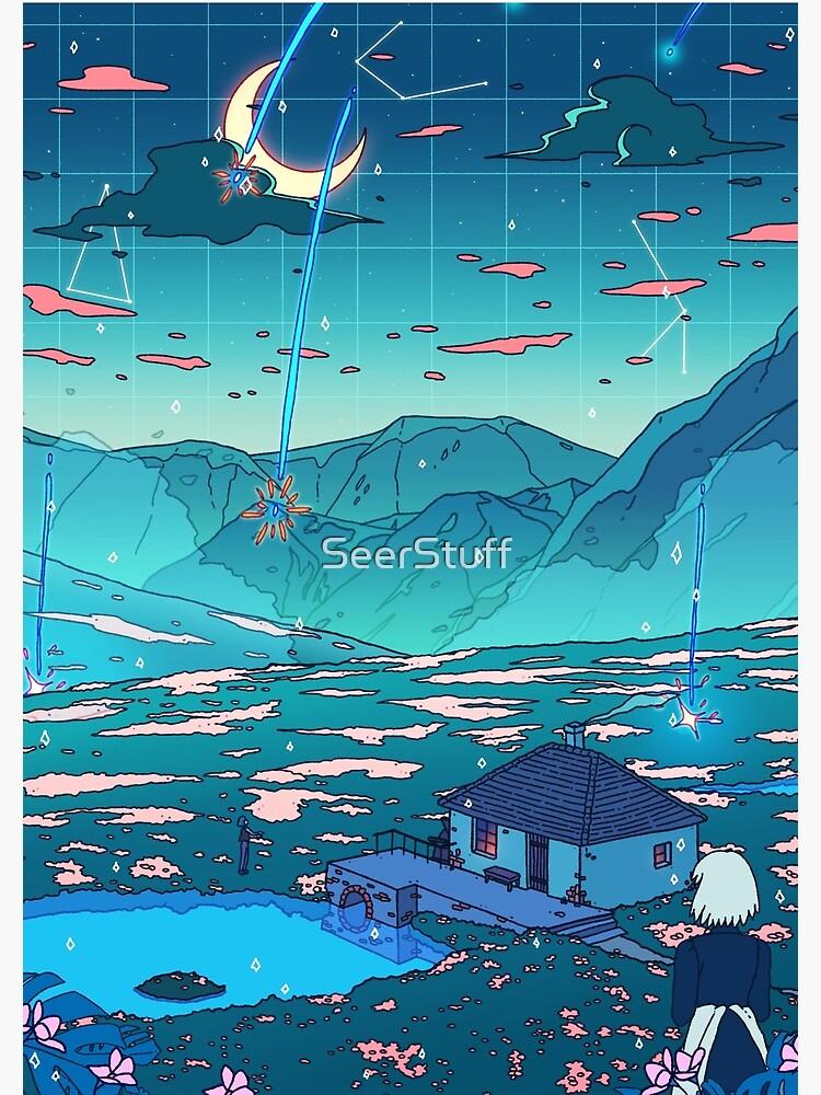 Crystal Shower by SeerStuff