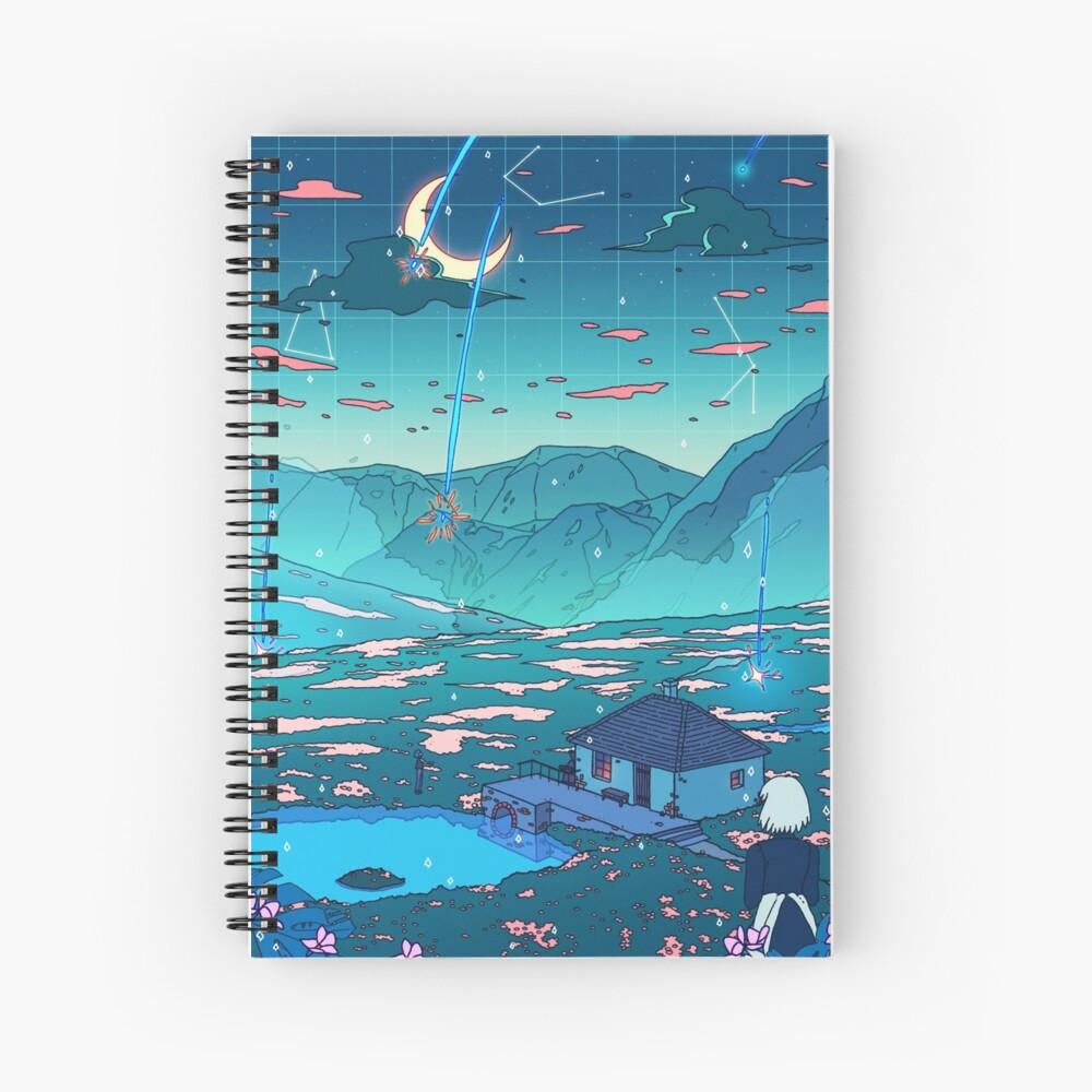 Crystal Shower Spiral Notebook