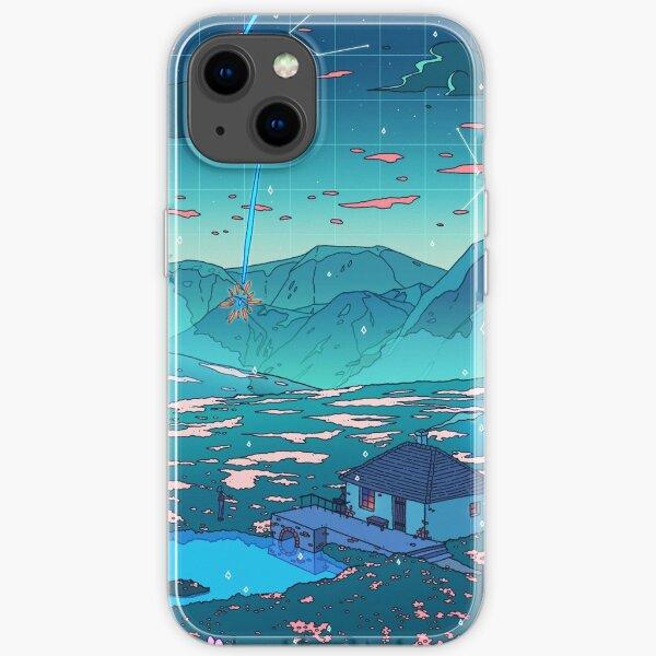 Douche de cristal Coque souple iPhone