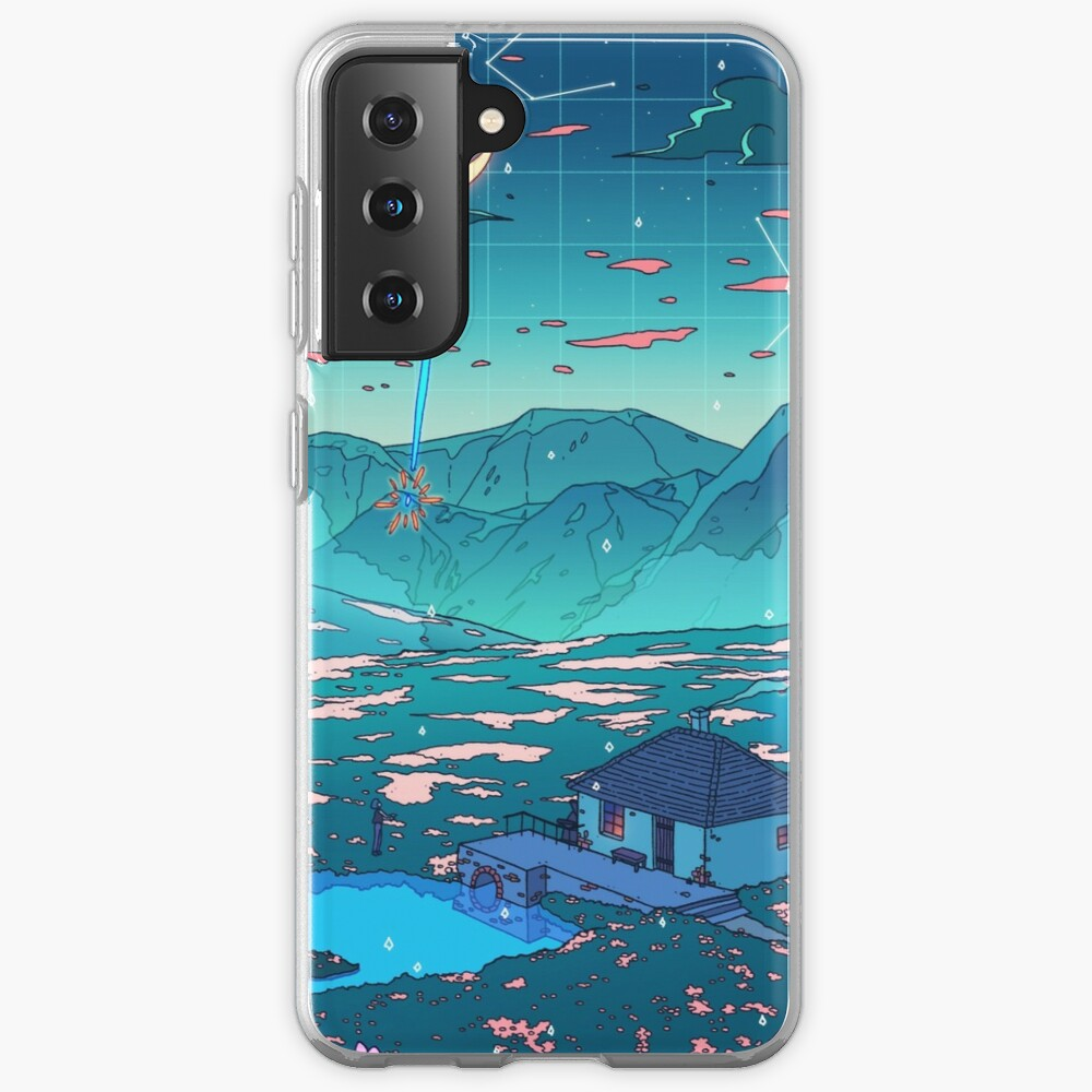 Crystal Shower Case & Skin for Samsung Galaxy