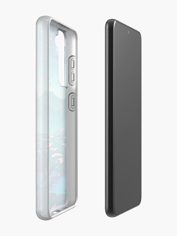 Alternate view of Crystal Shower Case & Skin for Samsung Galaxy