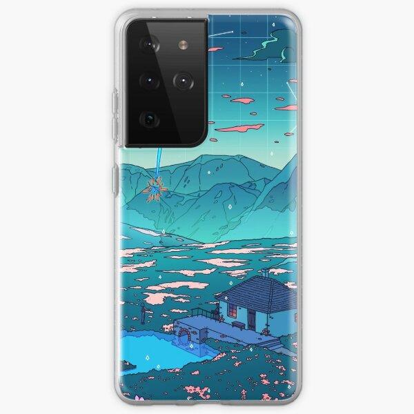 Kristalldusche Samsung Galaxy Flexible Hülle