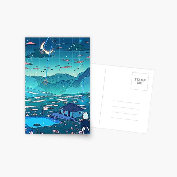 Crystal Shower Postcard