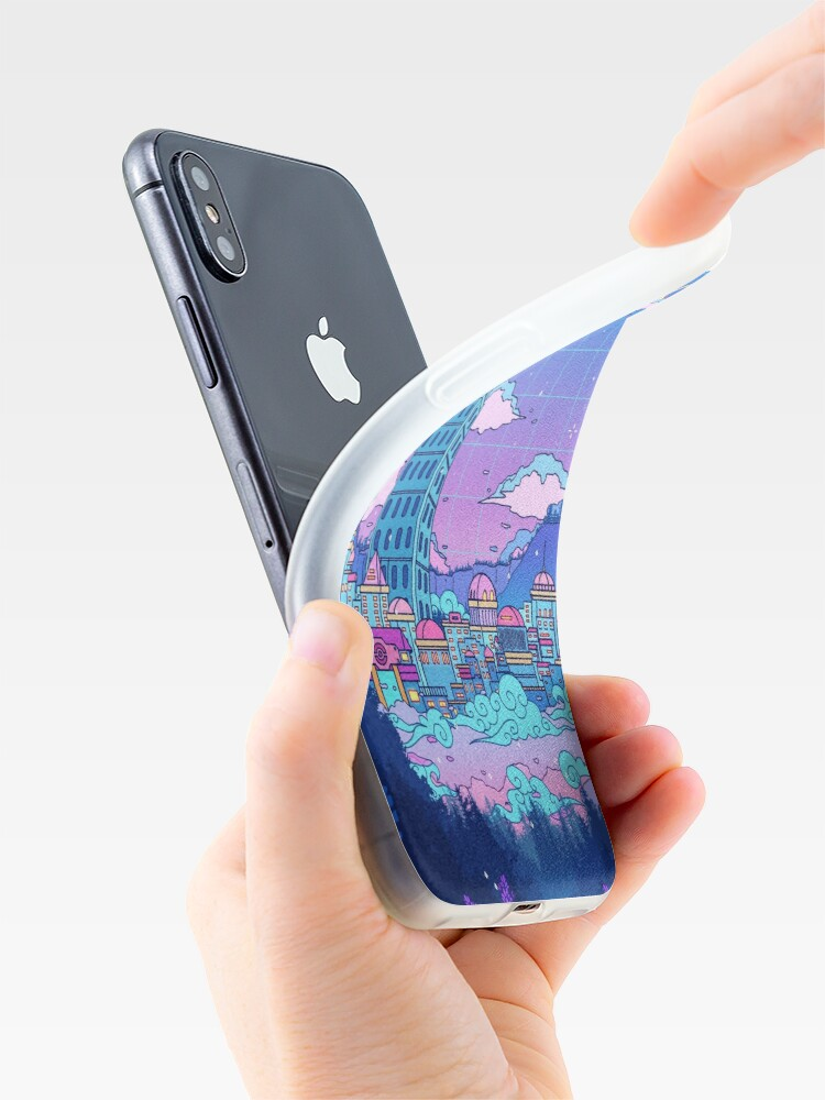 Alternate view of Lavender Town iPhone Case & Cover