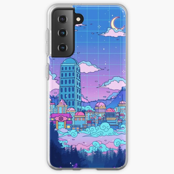 Lavender Town Samsung Galaxy Soft Case