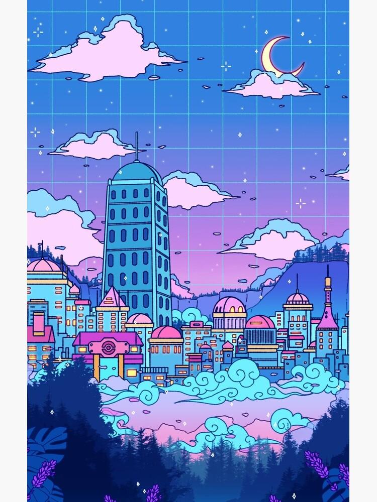 Lavender Town by SeerStuff