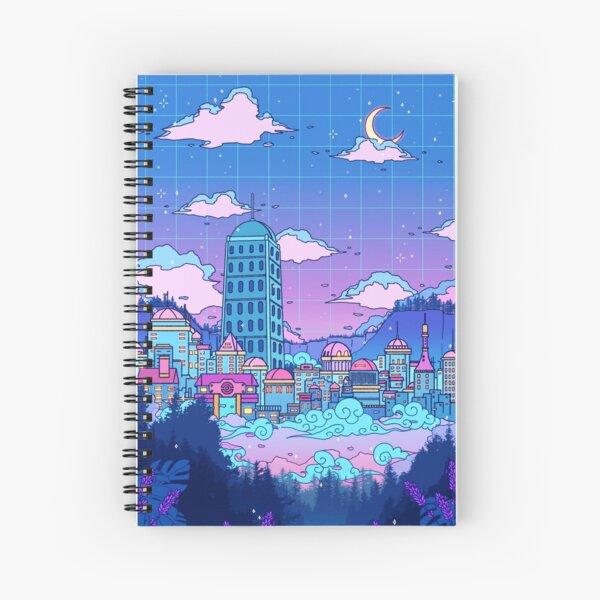 Lavender Town Spiral Notebook